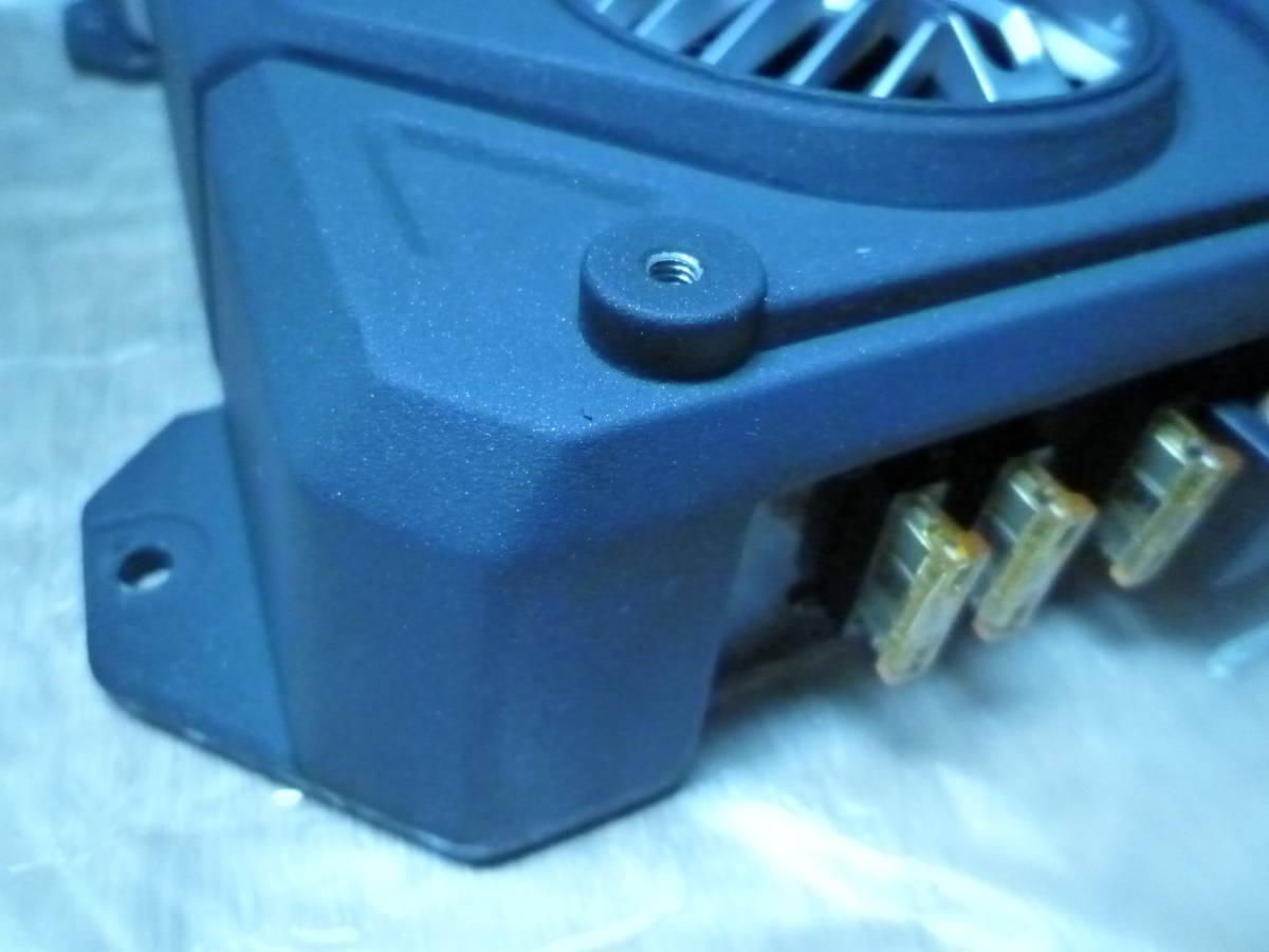 車載動作確認済 保証/ 1Ω対応時定格出力1000W ケンウッド KENWOOD KAC-X811D サブウーハー用ハイパワーモノラルパワーアンプ1ch 最大1600W_画像2