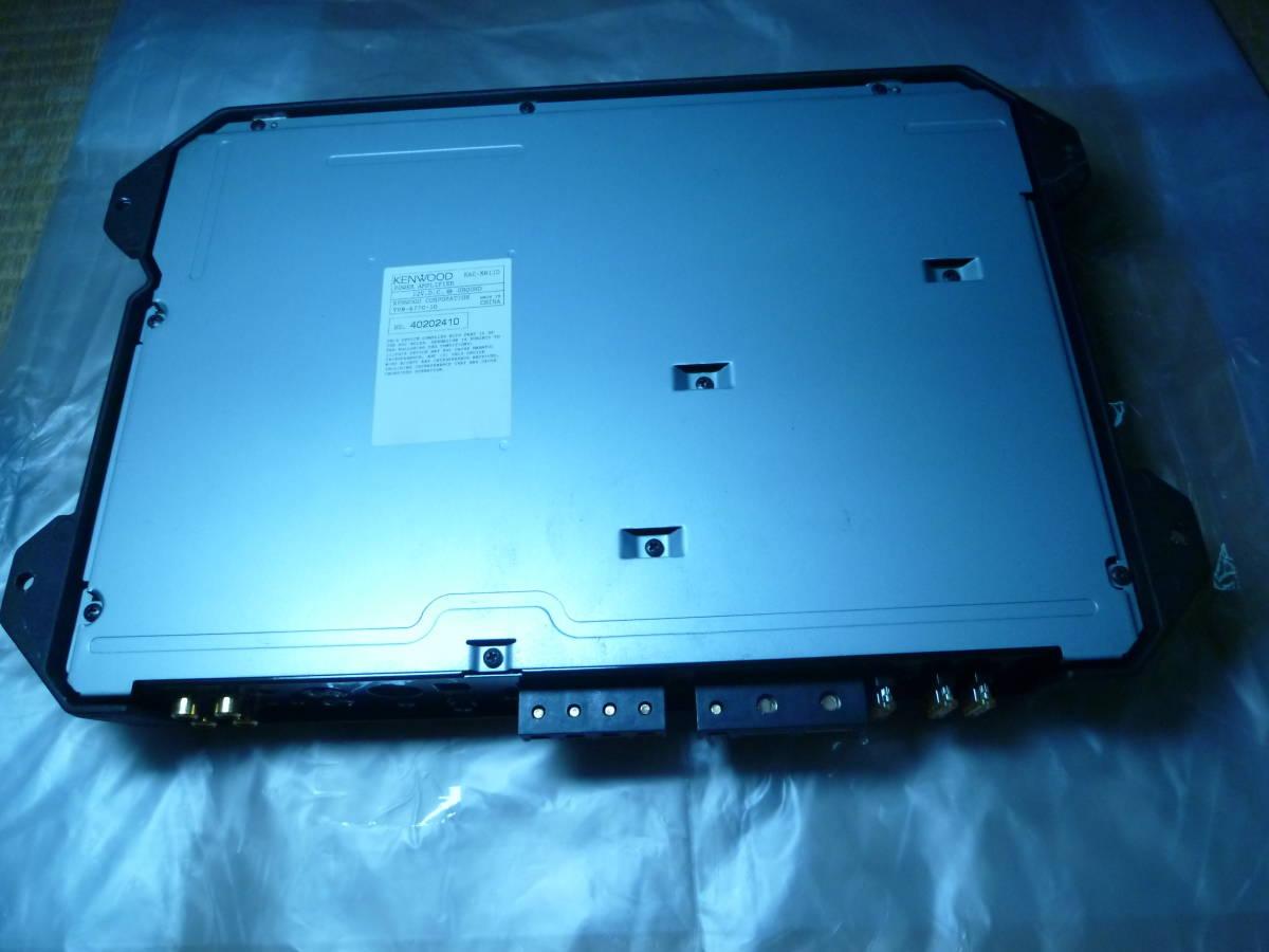 車載動作確認済 保証/ 1Ω対応時定格出力1000W ケンウッド KENWOOD KAC-X811D サブウーハー用ハイパワーモノラルパワーアンプ1ch 最大1600W_他にも画像38枚を掲載しています。