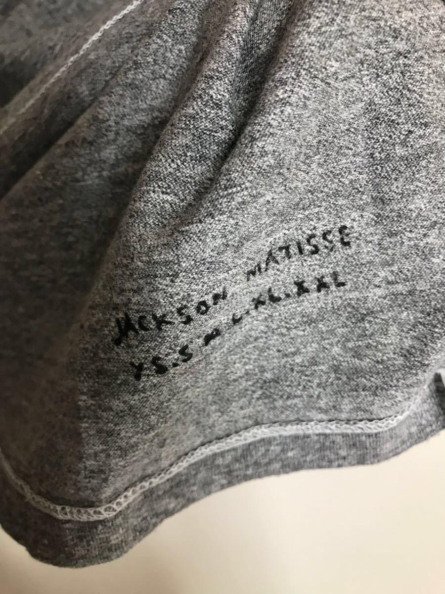 美品 JACKOSN MATISSE ジャクソンマティス スマイル Tシャツ 霜降りグレー サイズS_画像4