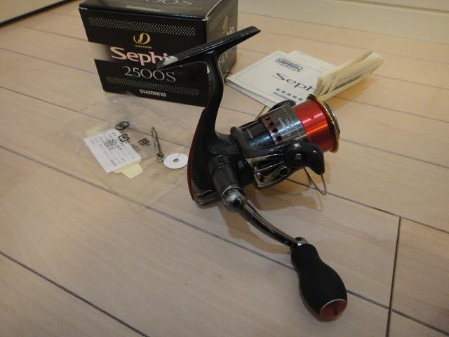シマノ スピニングリール セフィア2500S 2500SS替えスプール付き_画像6