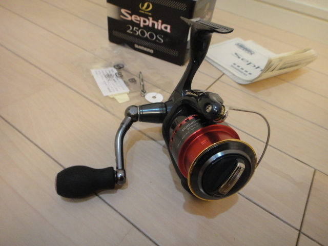シマノ スピニングリール セフィア2500S 2500SS替えスプール付き_画像5