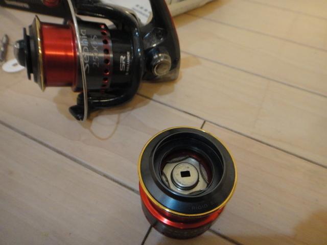 シマノ スピニングリール セフィア2500S 2500SS替えスプール付き_画像3