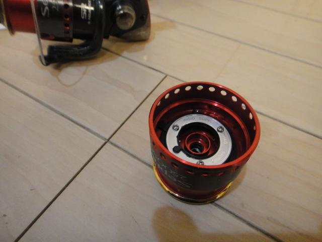 シマノ スピニングリール セフィア2500S 2500SS替えスプール付き_画像4