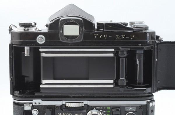 一円出品売り切り!! Nikon ニコン F 黒 デイリースポーツ刻印 MD-2 MD-1 #70_画像6