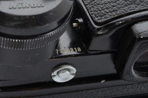 一円出品売り切り!! Nikon ニコン F 黒 デイリースポーツ刻印 MD-2 MD-1 #70_画像8