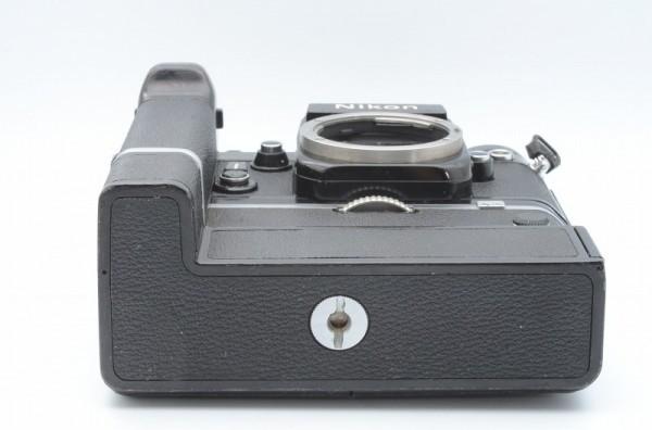 一円出品売り切り!! Nikon ニコン F 黒 デイリースポーツ刻印 MD-2 MD-1 #70_画像5