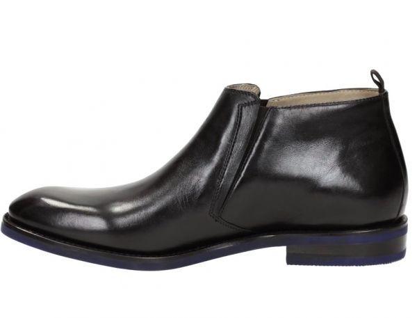 CLARKS 27cm ブーツ ブラック 黒 レザー 革 ブーツ サイドゴア レースアップ フォーマル ビジネス 黒 スリッポン ローファー 663_画像2