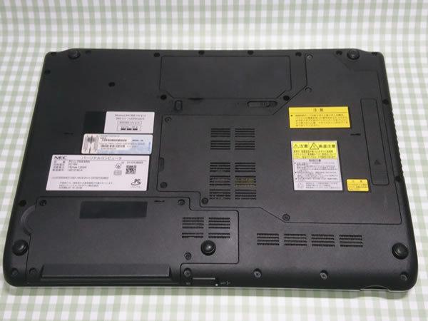 超高速 Core i7 【新品】360G SSD【超快速仕様☆Windows10】NEC LL750/E PC-LL750ES6W メモリ8G BD-RE Office 高音質YAMAHA音源 1円~_画像6