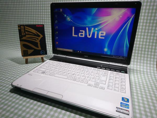 超高速 Core i7 【新品】360G SSD【超快速仕様☆Windows10】NEC LL750/E PC-LL750ES6W メモリ8G BD-RE Office 高音質YAMAHA音源 1円~