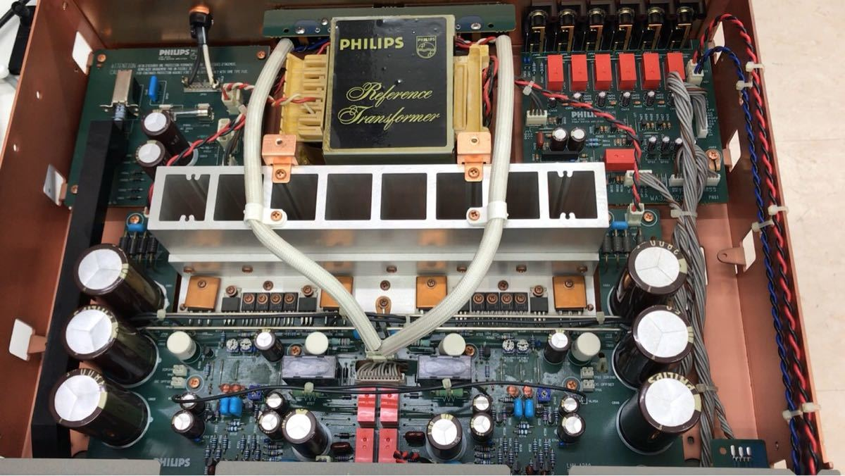 ジャンク PHILIPS フィリップス LHH A200 プリメインアンプ 電源入りません_画像10