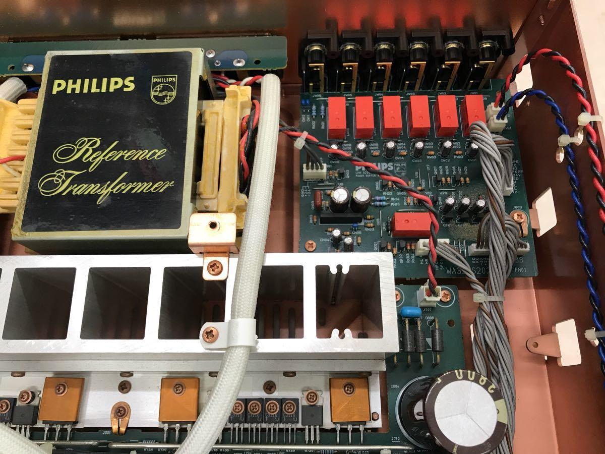 ジャンク PHILIPS フィリップス LHH A200 プリメインアンプ 電源入りません_画像5