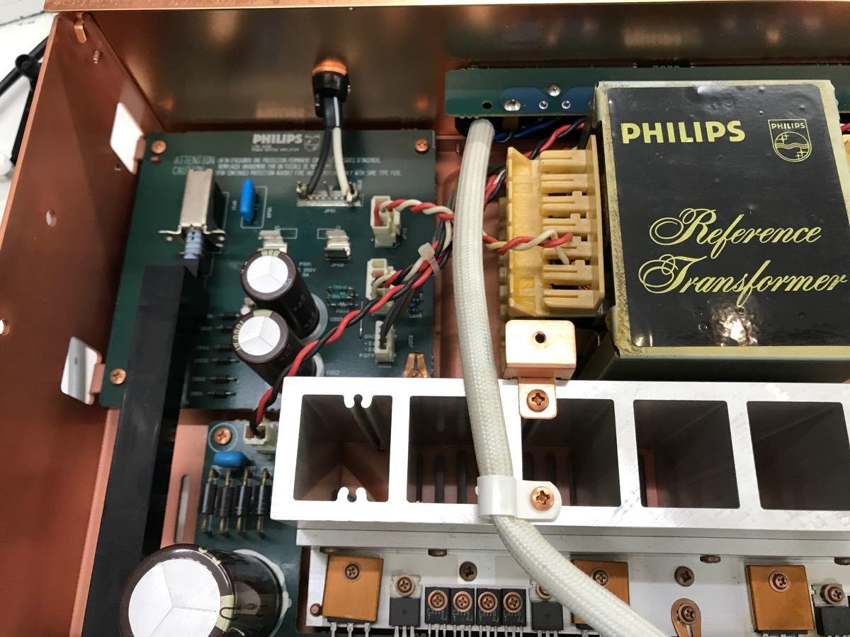 ジャンク PHILIPS フィリップス LHH A200 プリメインアンプ 電源入りません_画像6