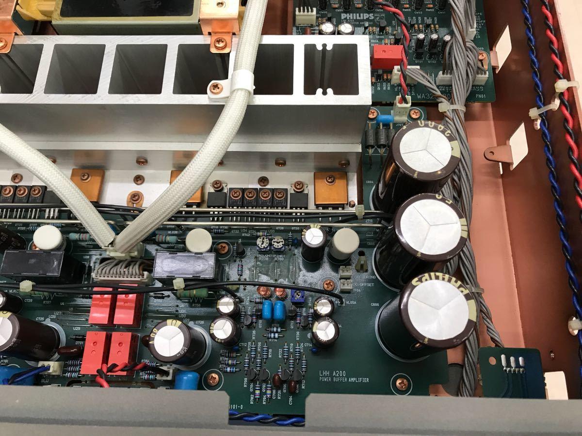 ジャンク PHILIPS フィリップス LHH A200 プリメインアンプ 電源入りません_画像8