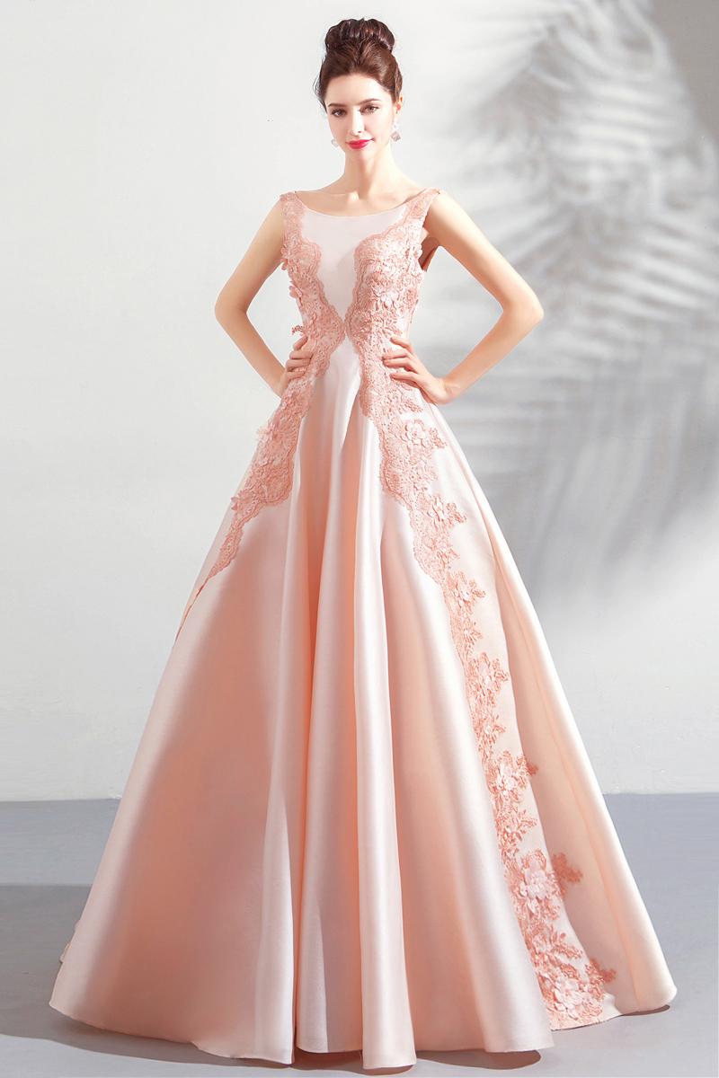 素敵なカラードレス 結婚式 披露宴 お色直し 二次会 パーティー 演奏会 発表会 ステージ衣装 TS622_画像9