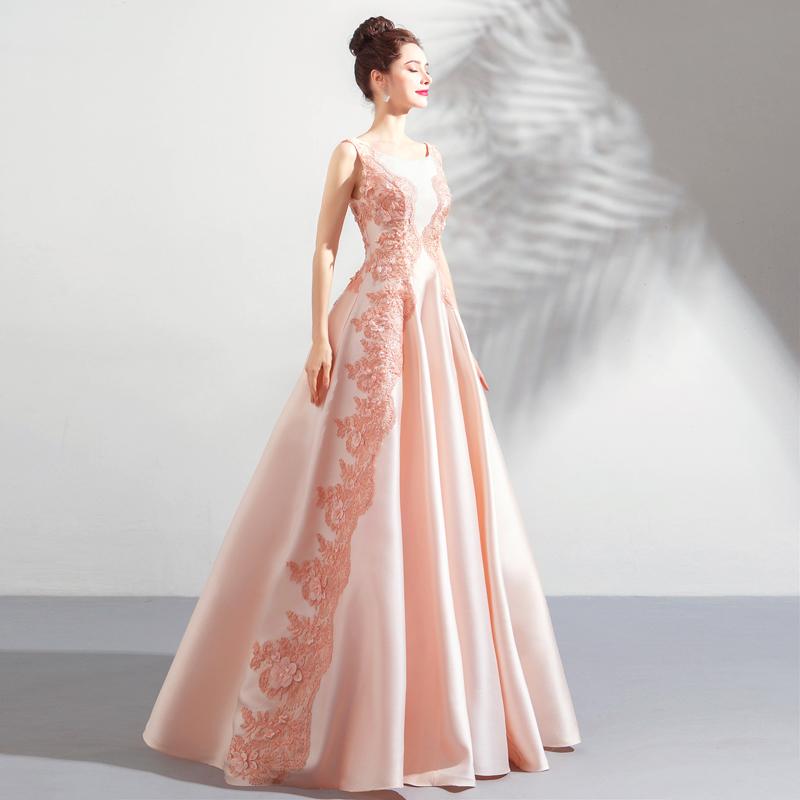 素敵なカラードレス 結婚式 披露宴 お色直し 二次会 パーティー 演奏会 発表会 ステージ衣装 TS622_画像2