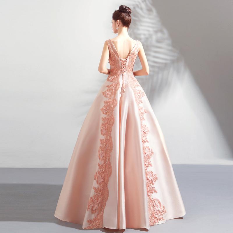 素敵なカラードレス 結婚式 披露宴 お色直し 二次会 パーティー 演奏会 発表会 ステージ衣装 TS622_画像4
