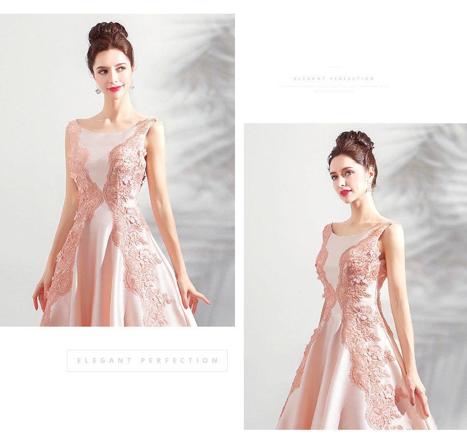 素敵なカラードレス 結婚式 披露宴 お色直し 二次会 パーティー 演奏会 発表会 ステージ衣装 TS622_画像8