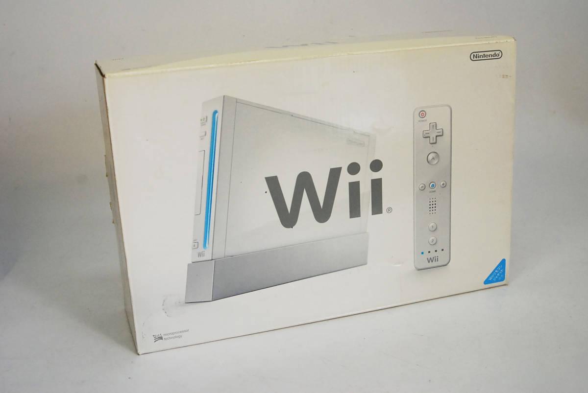 任天堂 Wii ホワイト 本体 新品