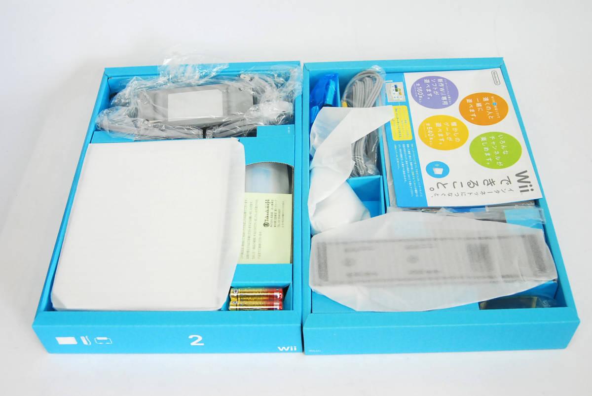 任天堂 Wii ホワイト 本体 新品_画像4