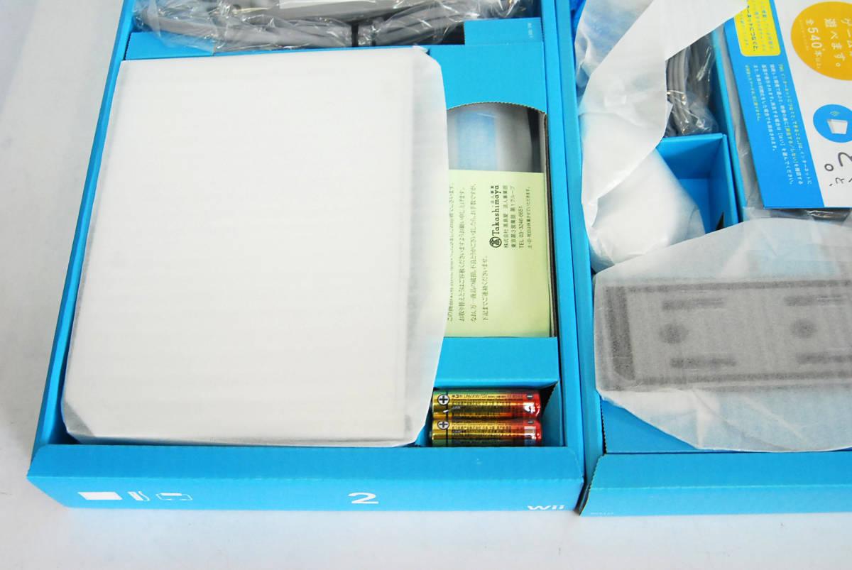 任天堂 Wii ホワイト 本体 新品_画像6