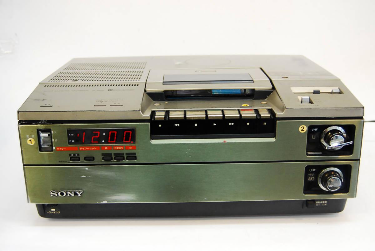 SONY/ソニー ビデオカセットレコーダー SL-8500 ジャンク