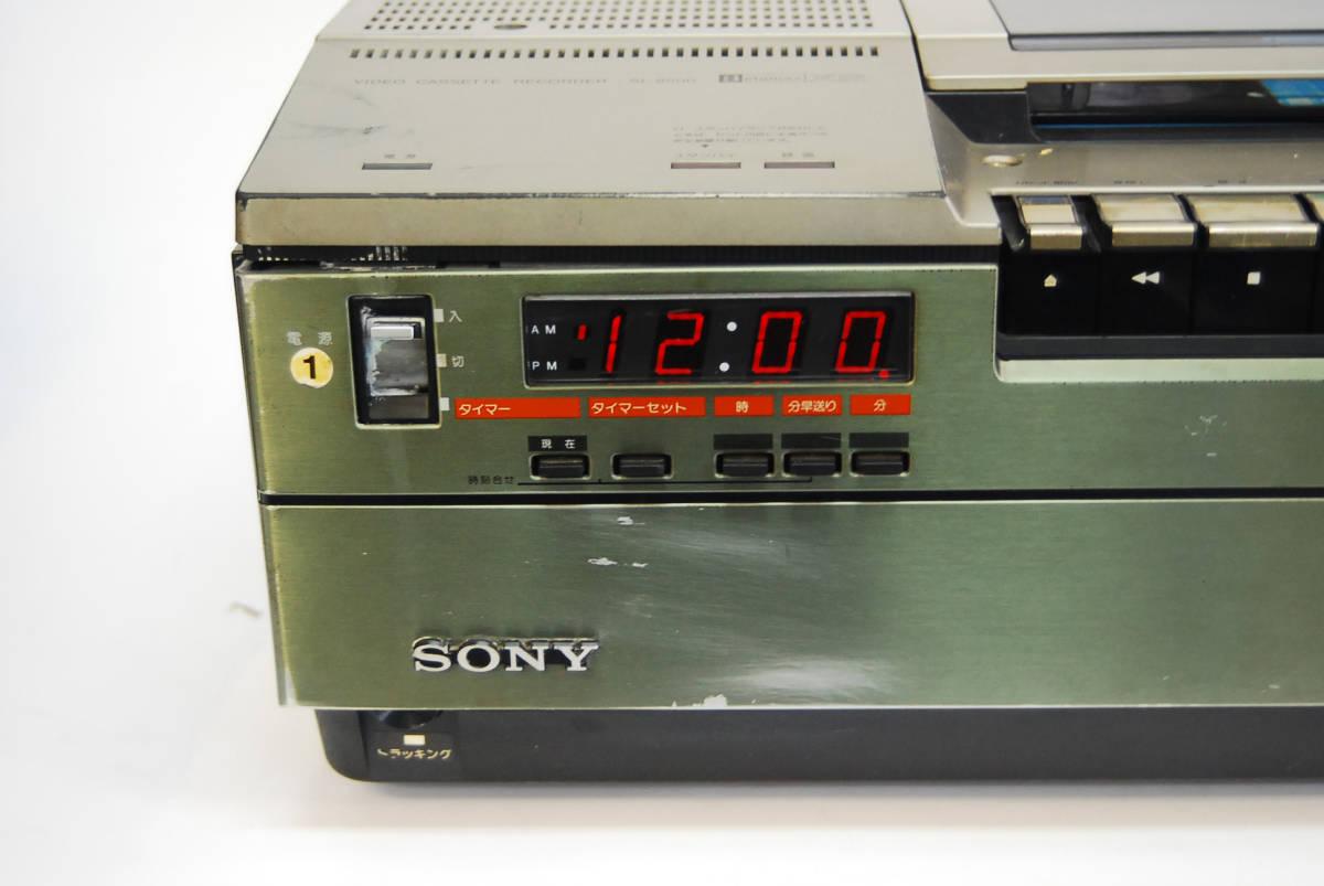 SONY/ソニー ビデオカセットレコーダー SL-8500 ジャンク _画像2