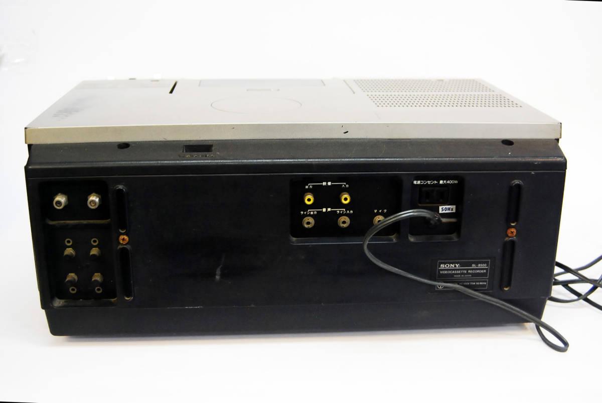SONY/ソニー ビデオカセットレコーダー SL-8500 ジャンク _画像6