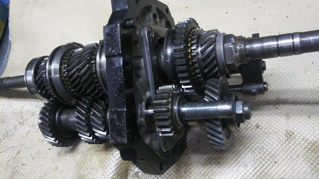 L型 L6 240クロス ミッション フルワーナーシンクロ S30Z ハコスカ GC10 S130 ケンメリ FS5W71B 240ZG GT-R FS5C71B_画像6