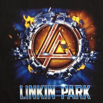 SR2A2♪ 両面プリントバンドデザイン半袖Tシャツ リンキンパーク LINKIN PARK Mサイズ
