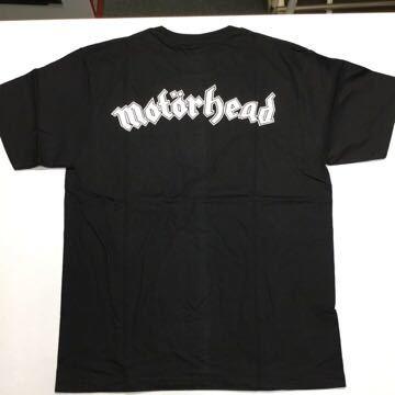 ◎両面プリントバンドデザイン半袖Tシャツ モーターヘッド motrhead Mサイズ GR1A1