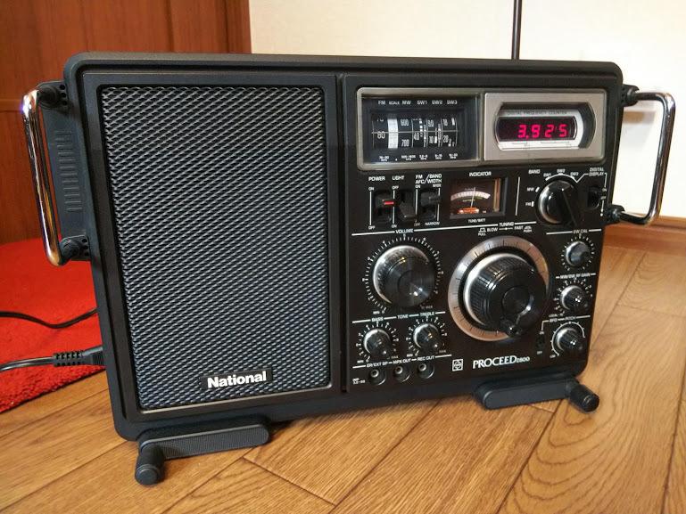 National ナショナル PROCEED2800 RF-2800 プロシード 5バンドラジオ BCL ラジオ 受信機