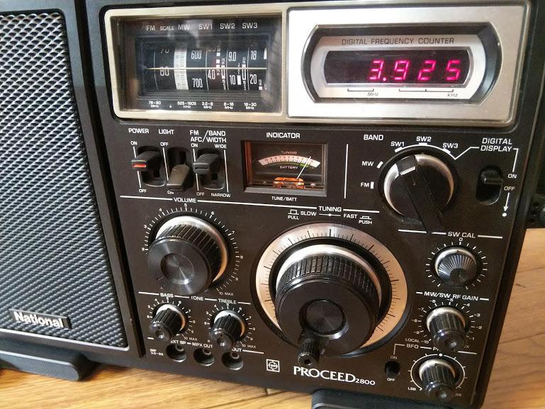 National ナショナル PROCEED2800 RF-2800 プロシード 5バンドラジオ BCL ラジオ 受信機_画像5