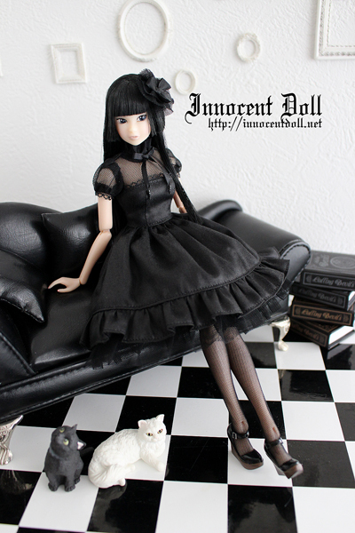 """1/6 scale doll dress""""ombre"""""""