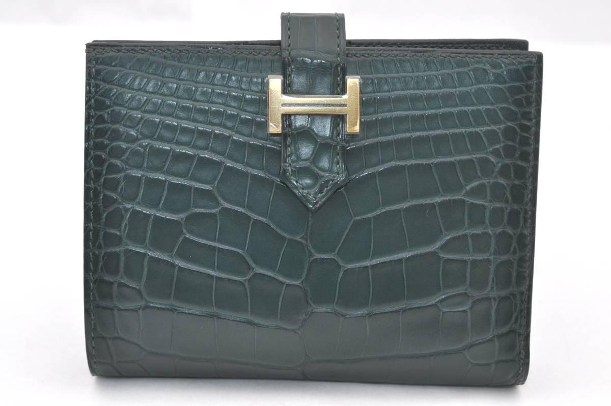 エルメス クロコ 財布