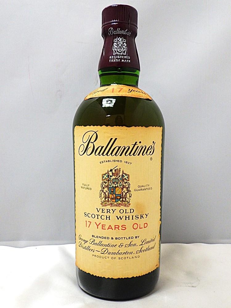 18-2897 【未開栓】  ウィスキー バランタイン 17年 1289.7g Ballantine's VERY OLD 17YEARS OLD スコットランド_画像1