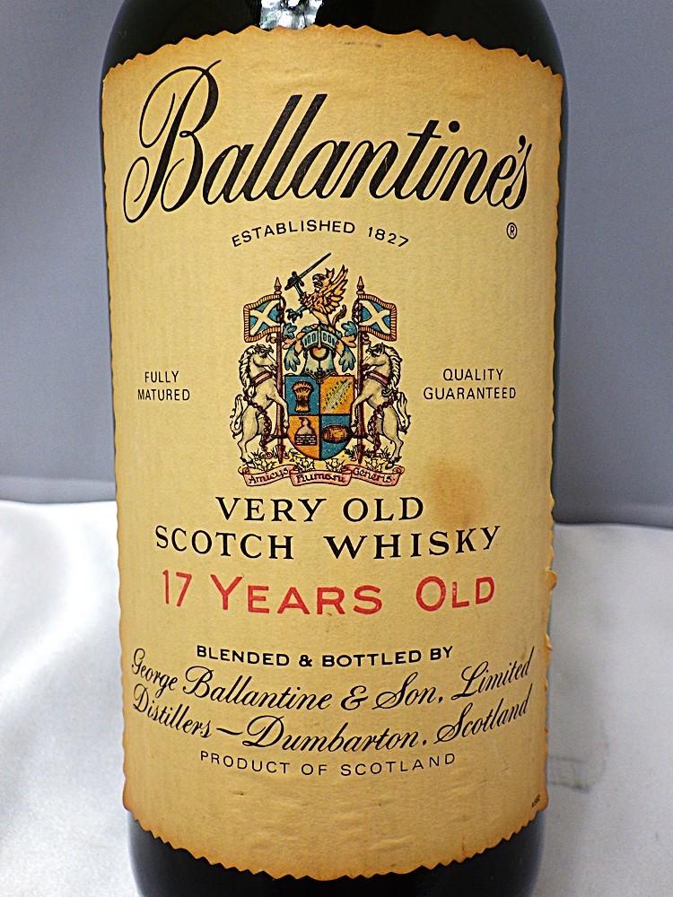 18-2897 【未開栓】  ウィスキー バランタイン 17年 1289.7g Ballantine's VERY OLD 17YEARS OLD スコットランド_画像4