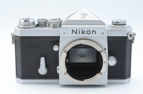 1円~ ニコン Nikon F 初期 アイレベル 元箱付きSerial合致 富士山マーク ボディ 6558446_画像3