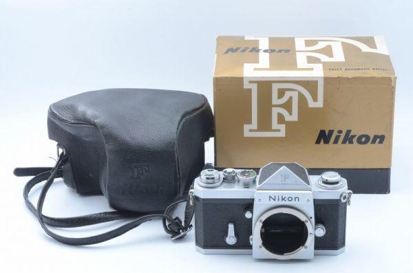 1円~ ニコン Nikon F 初期 アイレベル 元箱付きSerial合致 富士山マーク ボディ 6558446