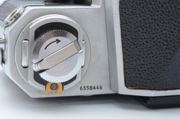 1円~ ニコン Nikon F 初期 アイレベル 元箱付きSerial合致 富士山マーク ボディ 6558446_画像9