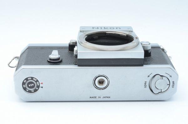 1円~ ニコン Nikon F 初期 アイレベル 元箱付きSerial合致 富士山マーク ボディ 6558446_画像6