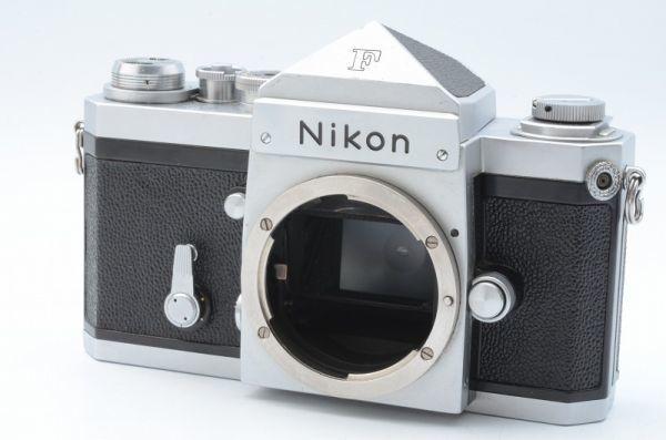 1円~ ニコン Nikon F 初期 アイレベル 元箱付きSerial合致 富士山マーク ボディ 6558446_画像2