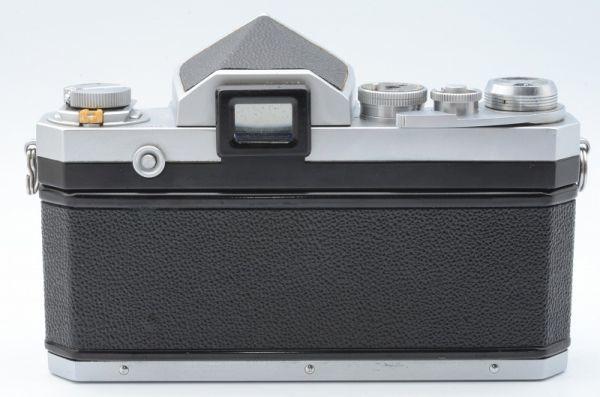 1円~ ニコン Nikon F 初期 アイレベル 元箱付きSerial合致 富士山マーク ボディ 6558446_画像4