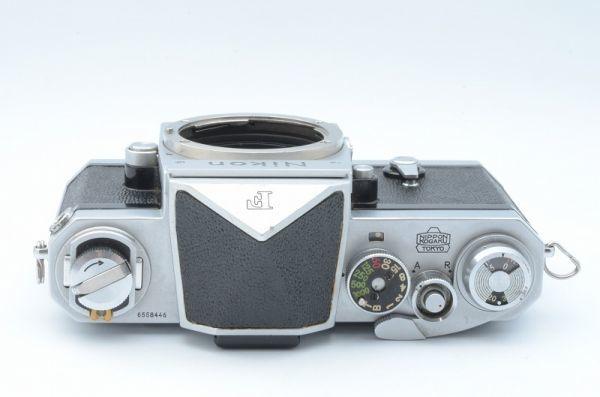 1円~ ニコン Nikon F 初期 アイレベル 元箱付きSerial合致 富士山マーク ボディ 6558446_画像5