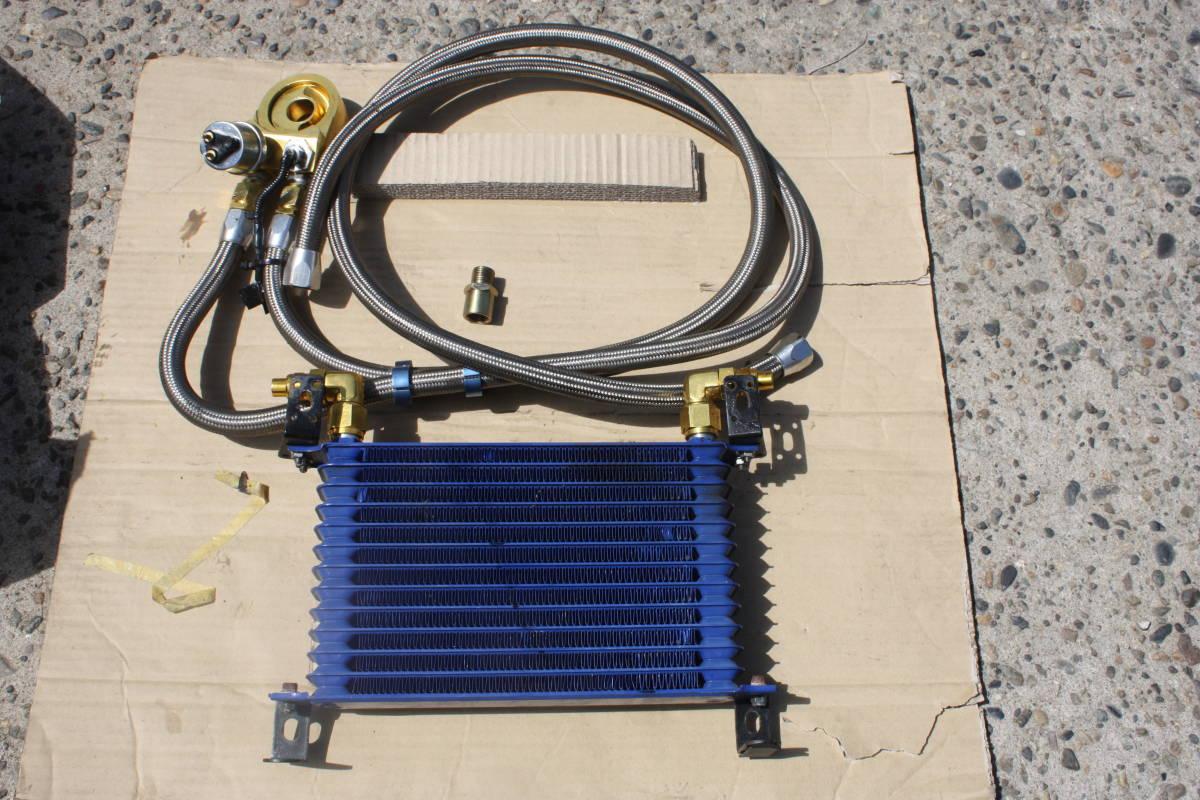 ジムニー JB23W 12段エンジンオイルクーラーキット 運賃1500円 JA11V JA22V JA12C JA11C カプチーノ アルトワークス