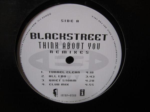 Blackstreet / Think About You Remixes inc, All I Do, Stevie Wonder_画像1