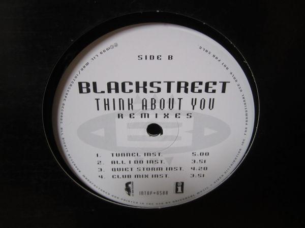 Blackstreet / Think About You Remixes inc, All I Do, Stevie Wonder_画像2