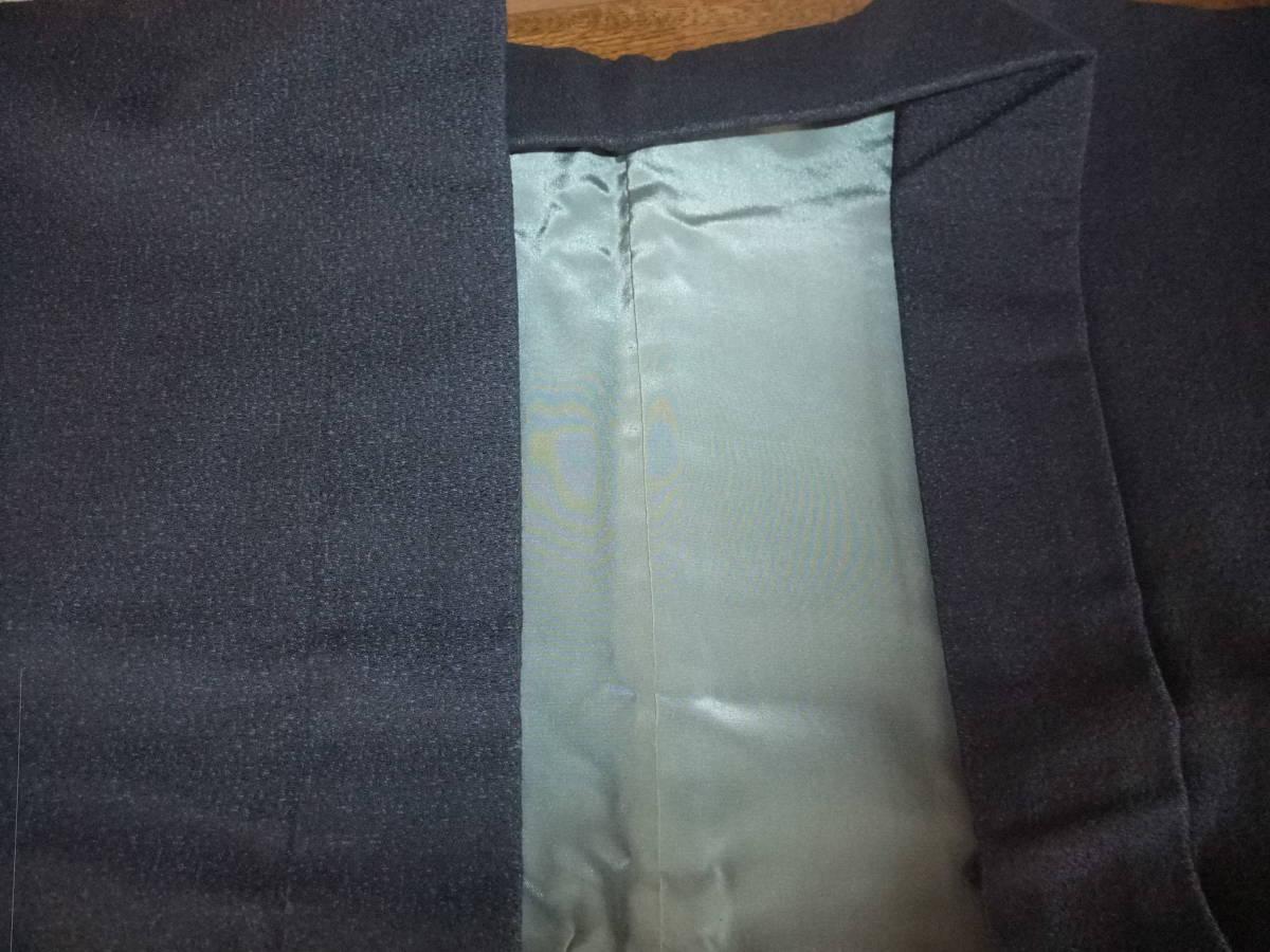 男性和服/着物 ウール羽織 未着用