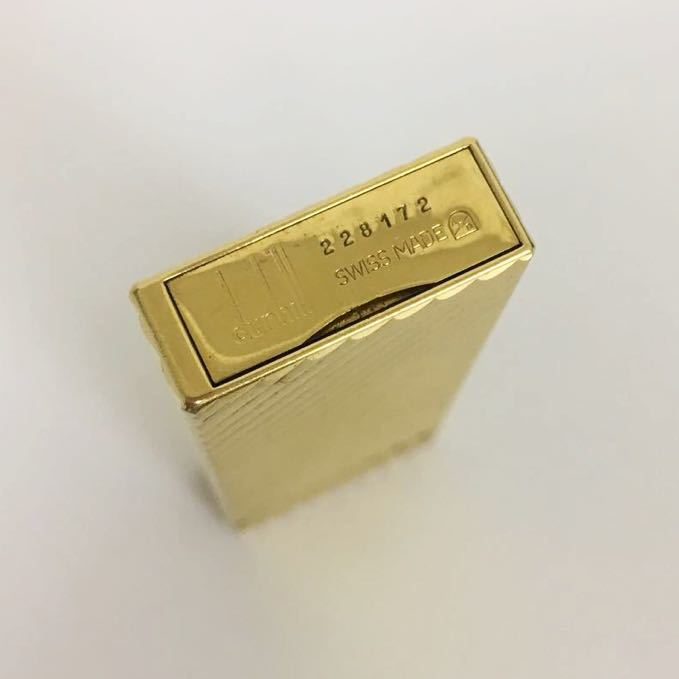 dunhill/ダンヒル ライター 着火確認済 ゴールド 1円スタート_画像4