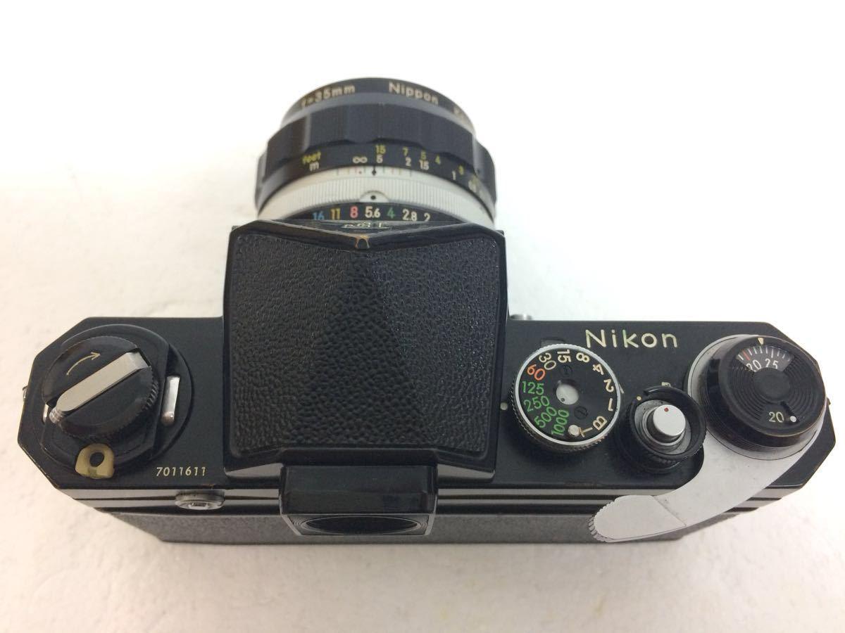 カメラ NIKON (ニコン) F レンズ NIKKOR- P 105mm,NIKKOR-S 50mm NIKKOR-O 35mm reref-d 0921_画像5