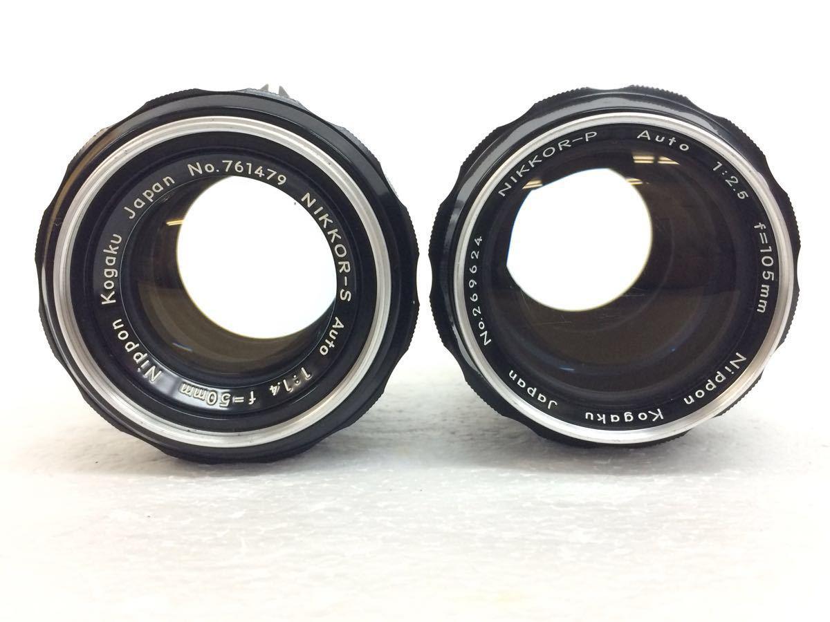 カメラ NIKON (ニコン) F レンズ NIKKOR- P 105mm,NIKKOR-S 50mm NIKKOR-O 35mm reref-d 0921_画像9